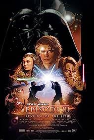 Samuel L. Jackson, Ewan McGregor, Natalie Portman, Frank Oz, Ian McDiarmid, and Hayden Christensen in Star Wars: Episode III - Revenge of the Sith (2005)