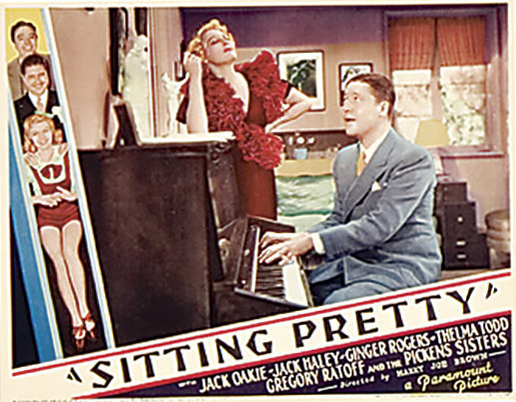 Ginger Rogers and Jack Oakie in Sitting Pretty (1933)