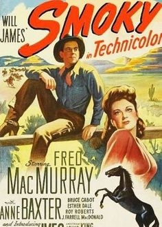 Anne Baxter and Fred MacMurray in Smoky (1946)