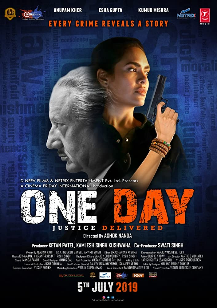 One Day Justice Delivered 2019 Hindi Full Movie HDCAM 720p 700MB pDVDRip Download Watch Online