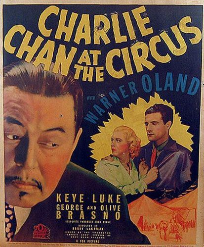 Shirley Deane, John McGuire, and Warner Oland in Charlie Chan at the Circus (1936)