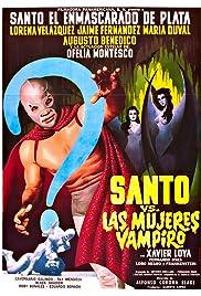 Santo vs. the Vampire Women Poster