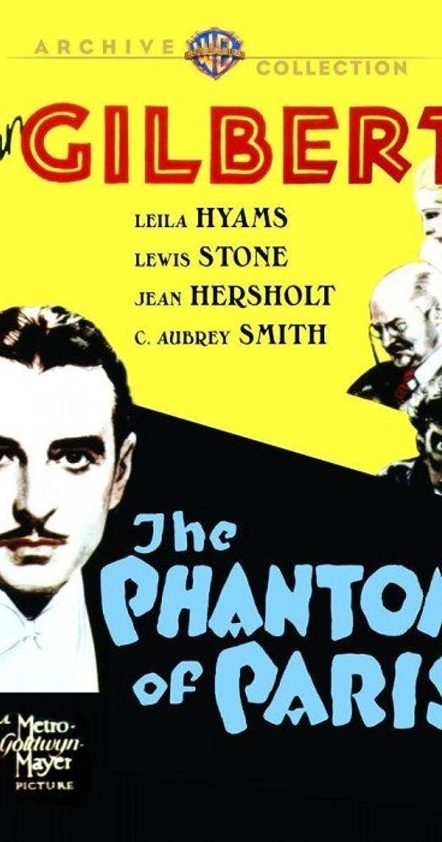 The Phantom Of Paris 1931 Imdb