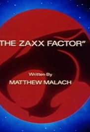 The Zaxx Factor Poster