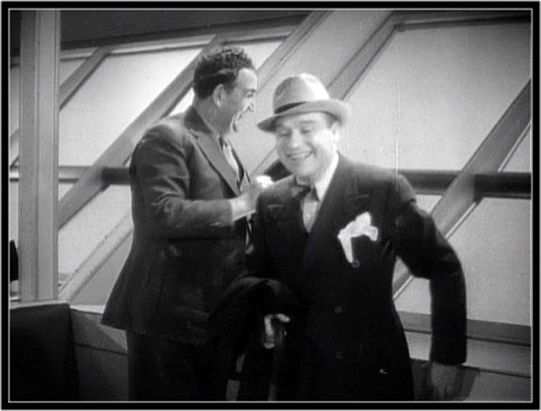 Tom Kennedy and Hugh O'Connell in Fly Away Baby (1937)
