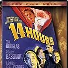 Richard Basehart, Barbara Bel Geddes, Paul Douglas, and Debra Paget in Fourteen Hours (1951)