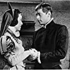 Luana Anders and John Kerr in The Pit and the Pendulum (1961)