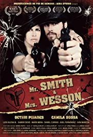 Mr. Smith & Mrs. Wesson Poster