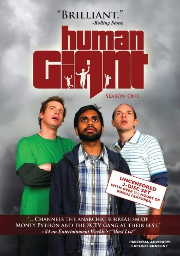 Rob Huebel, Paul Scheer, and Aziz Ansari in Human Giant (2007)