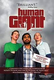 Rob Huebel, Paul Scheer, and Aziz Ansari in Human Giant (2007)