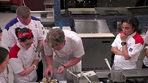 Hell's Kitchen: Gordon Ramsay Demonstrates How To Make An Oyster Dish
