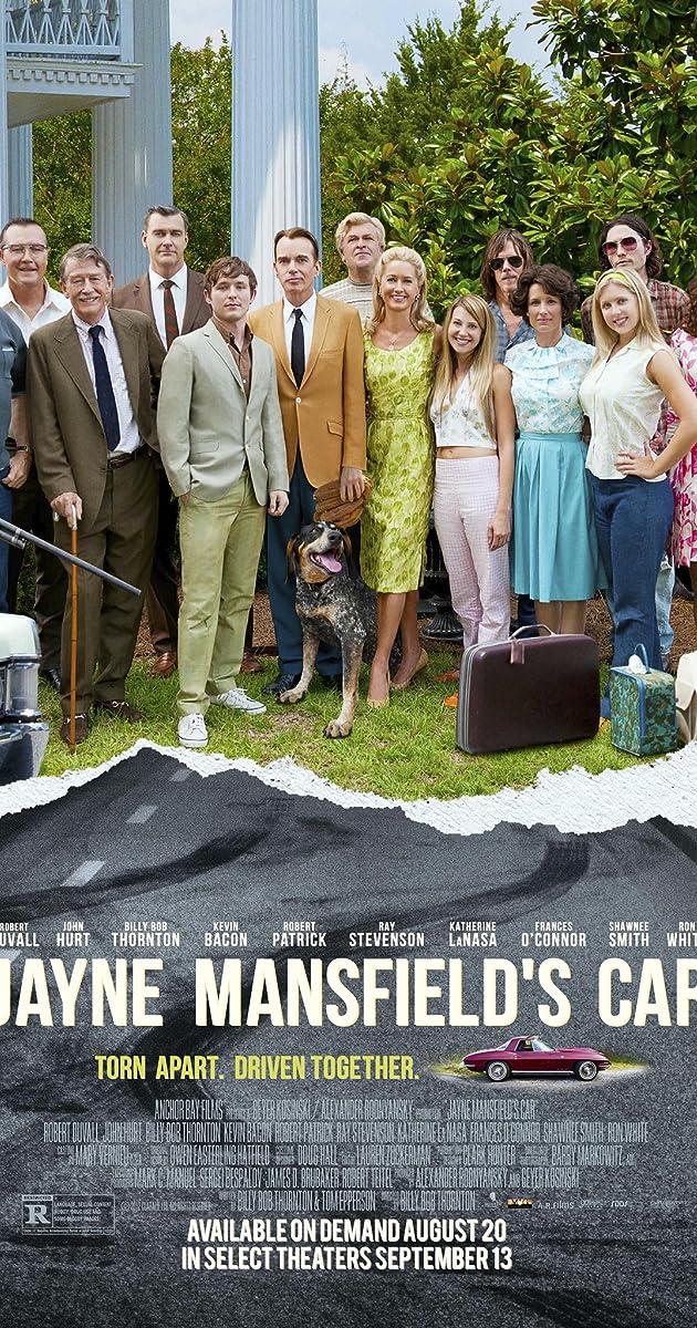 Subtitle of Jayne Mansfield's Car