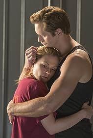 Anna Paquin and Alexander Skarsgård in True Blood (2008)