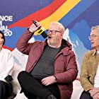 Kyle MacLachlan, Jim Gaffigan, and Eve Hewson at an event for The IMDb Studio at Acura Festival Village (2020)