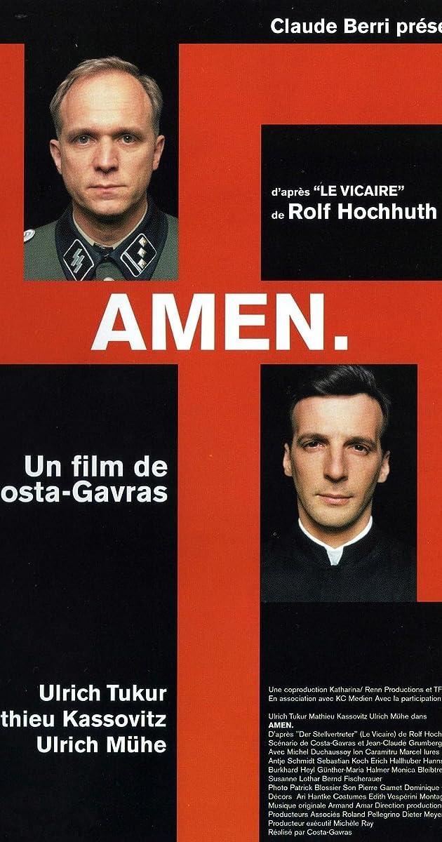 Subtitle of Amen.