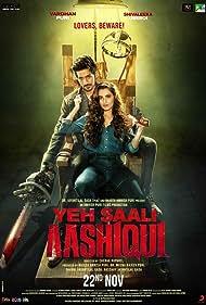 Shivaleeka Oberoi and Vardhan Puri in Yeh Saali Aashiqui (2019)