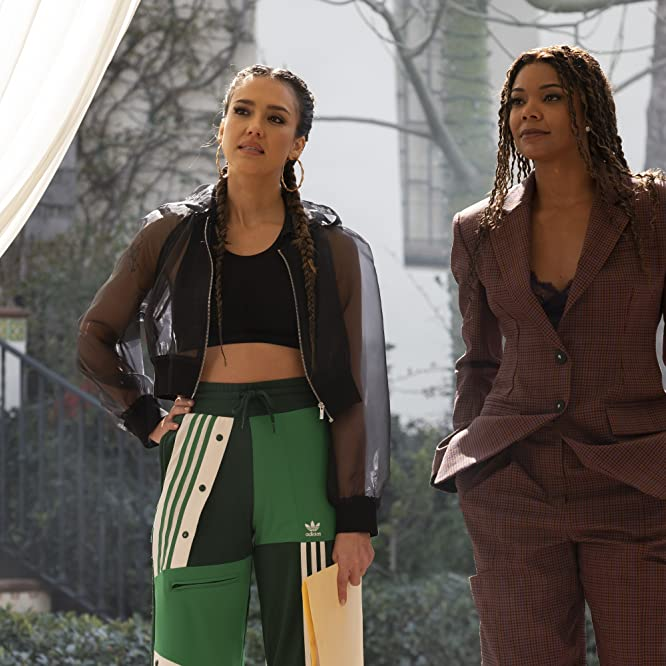Jessica Alba and Gabrielle Union in L.A.'s Finest (2019)