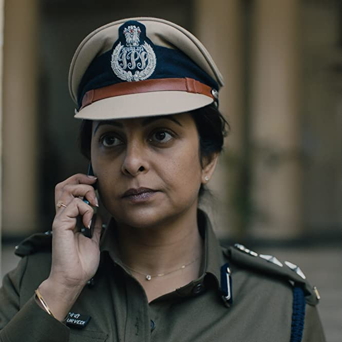 Shefali Shah and Richie Mehta in Delhi Crime (2019)