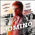 Guy Pearce, Nikolaj Coster-Waldau, Eriq Ebouaney, Carice van Houten, and Ilias Addab in Domino (2019)