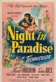 Night in Paradise (1946) Poster - Movie Forum, Cast, Reviews