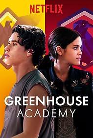 Finn Roberts and Ariel Mortman in Greenhouse Academy (2017)