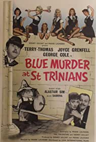 George Cole, Joyce Grenfell, Lionel Jeffries, Sabrina, Alastair Sim, and Terry-Thomas in Blue Murder at St. Trinian's (1957)