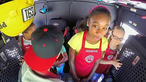 Masterchef Junior: The Little Chefs Arrive In A Fire Truck