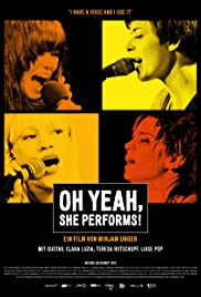Oh Yeah, She Performs! Poster