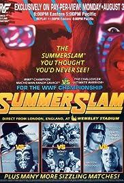 Summerslam(1992) Poster - TV Show Forum, Cast, Reviews