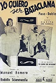 I Want to Be a Chorus Girl Poster