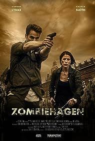 Simone Lykke and Casper Sloth in Zombiehagen (2014)