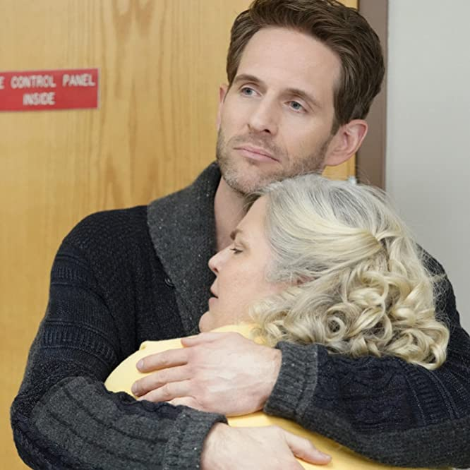 Paula Pell and Glenn Howerton in A.P. Bio (2018)