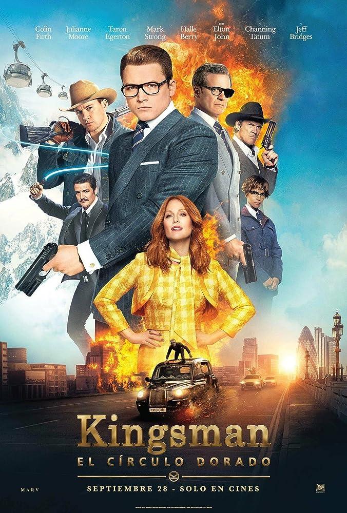 Kingsman: The Golden Circle (2017) 720p HEVC [Dual Audio] [Hindi ORG – English]