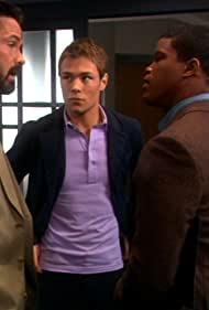 Billy Campbell, Sharif Atkins, and Patrick John Flueger in The 4400 (2004)