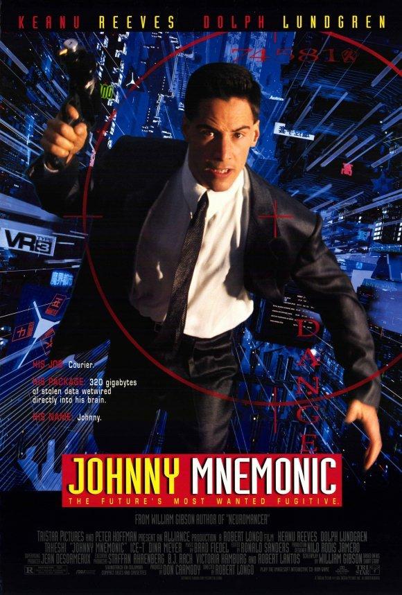 Johnny Mnemonic, o Cyborg do Futuro [Dub] – IMDB 5.6