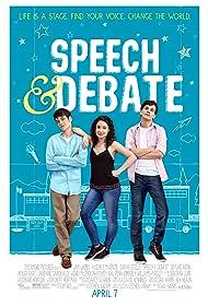 Liam James, Sarah Steele, and Austin P. McKenzie in Speech & Debate (2017)