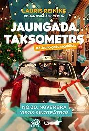 Jaungada taksometrs Poster