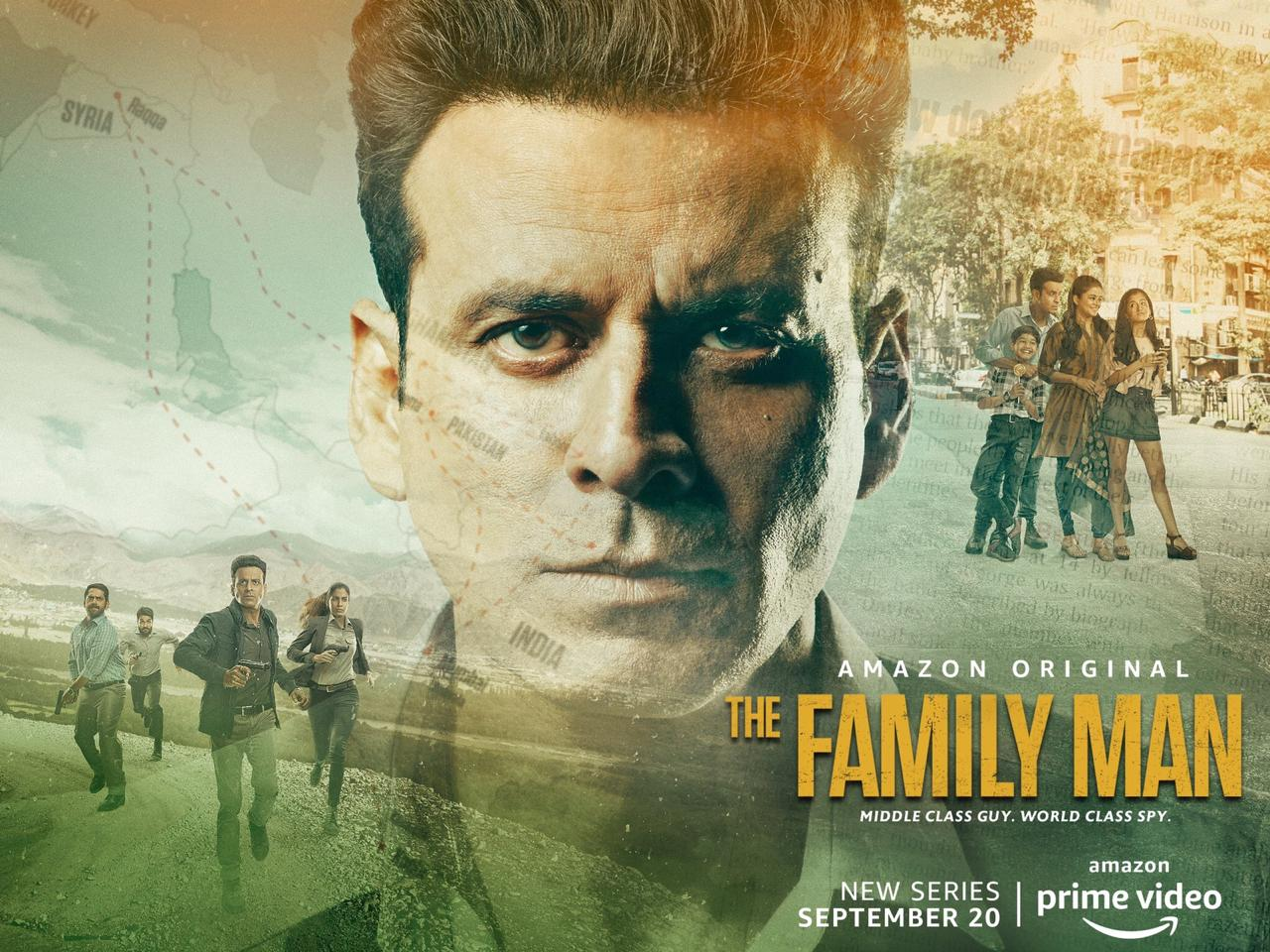 The Family Man S01 (2019) Hindi Complete Web Series 1.3GB HDRip Download