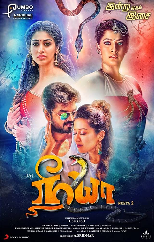 Neeya 2 (2019) UNCUT Dual Audio 720p HDRip [Hindi – Tamil] x264 AC3