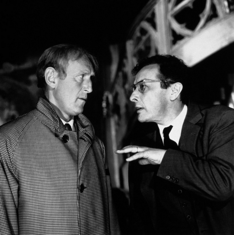 Jean-Louis Barrault and Bourvil in La grande frousse (1964)