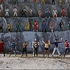 Mikiho Niwa, Kyosuke Hamao, Yui Koike, Kazuki Shimizu, Yûdai Chiba, Rika Satoh, Kento Ono, Mao Ichimichi, Ryôta Ozawa, and Yûki Yamada in Gôkaijâ Goseijâ Sûpâ sentai 199 hîrô daikessen (2011)