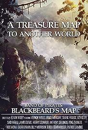 Band of Pirates: Blackbeard's Map Poster