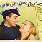 Bing Crosby and Carole Lombard in We're Not Dressing (1934)