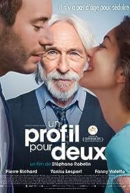 Pierre Richard, Fanny Valette, and Yaniss Lespert in Un profil pour deux (2017)