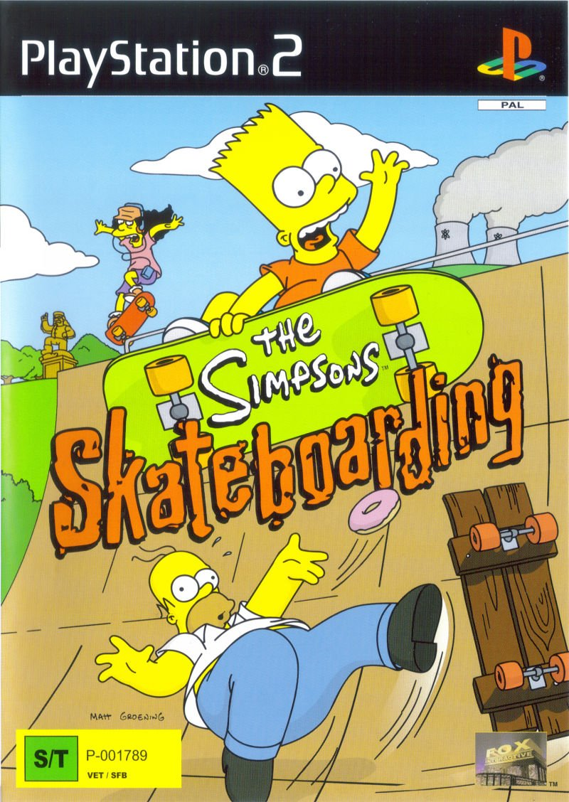 The Simpsons Skateboarding Video Game 2002 Imdb