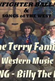 Western Music Cowboy Song Billy the Kid the Terry Family Poster