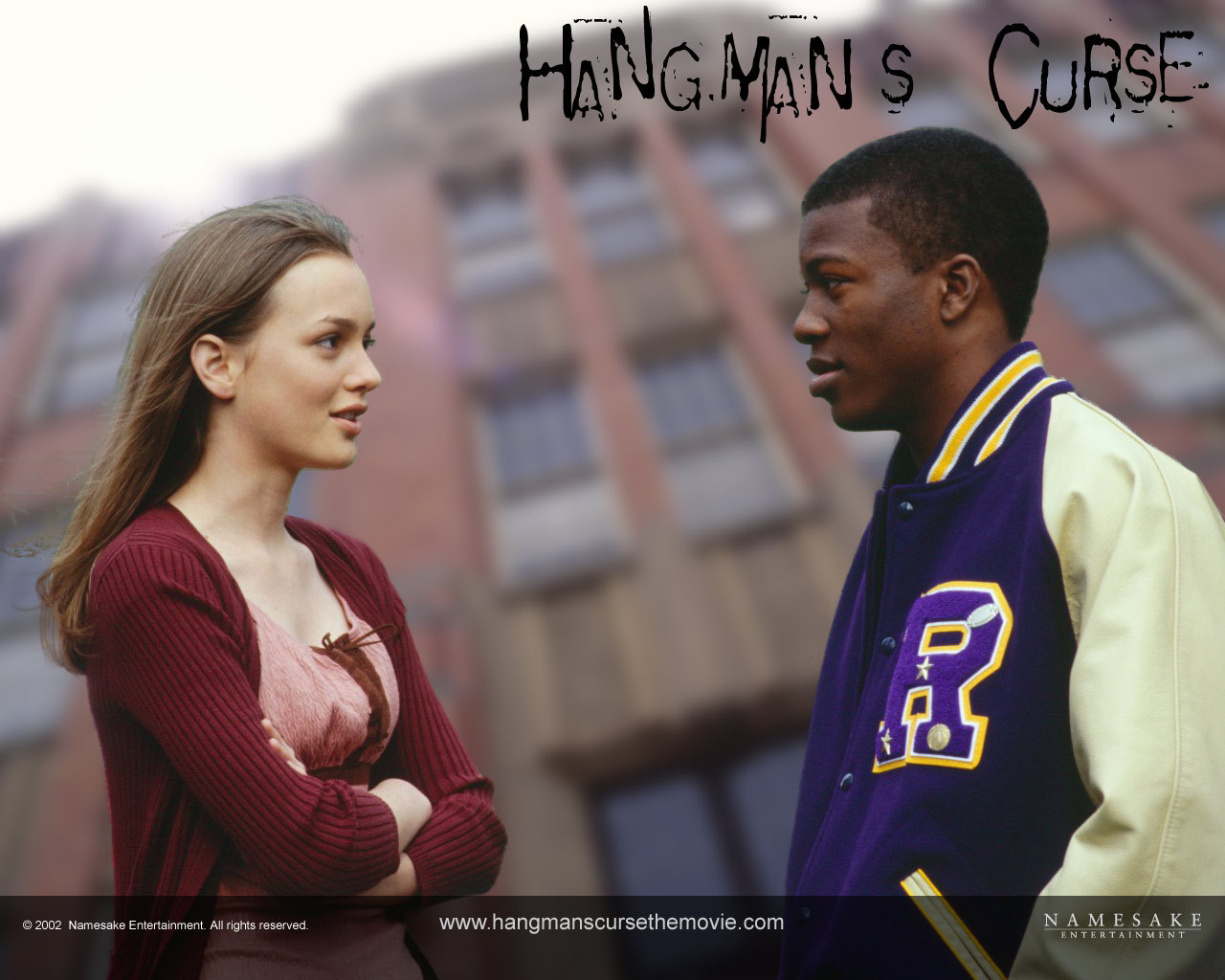 Edwin Hodge and Leighton Meester in Hangman's Curse (2003)