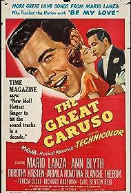 Ann Blyth and Mario Lanza in The Great Caruso (1951)