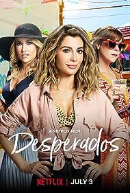 Nasim Pedrad, Sarah Burns, and Anna Camp in Desperados (2020)