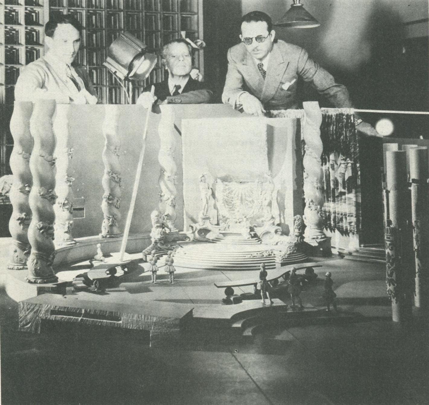 William Dieterle and Max Reinhardt in A Midsummer Night's Dream (1935)